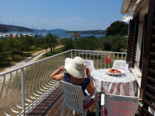 Beachfront apartment-great balcony views - Slano vacation rentals