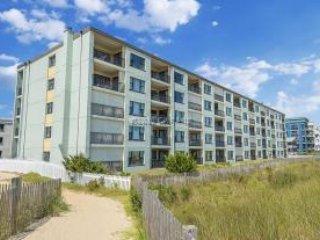 building from beach - Ocean Trails 2 Bedroom 2 Bath direct ocean front condo - Ocean City - rentals