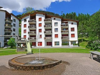 Comfortable Condo with Television and Balcony - Disentis vacation rentals