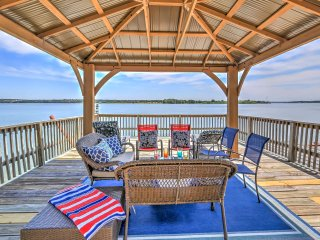 NEW! 3BR Granbury Lake Front Home w/ 2-Story Dock! - Granbury vacation rentals
