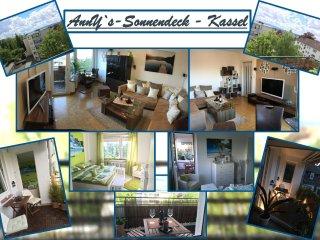 AnnYs-Sonnendeck, voll ausgestattete & möblierte Ferienwohnung im Zentrum Kassel - Vellmar vacation rentals