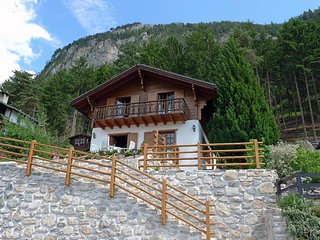 Beautiful House with Television and Balcony - Vercorin vacation rentals