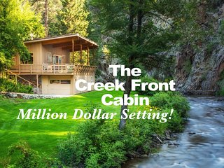 The Creek Front Cabin - Million Dollar Setting! - Rapid City vacation rentals