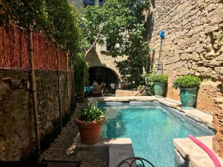 Provence:  Uzes, Near Place Aux Herbes, Apartment with Pool, 16th c Home,Sleeps - Uzes vacation rentals