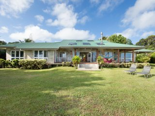 Custom Built Stone Sided 3 Bedroom Home on 10 acre Private Estate - Hawi vacation rentals
