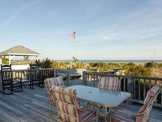 Enjoy Ocean Views From The Wraparound Porch At Your Clic Beach Cottage